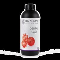 Фотополимер HARZ LABS Dental Cast для 3D принтеров LCD/DLP 1 л Красный