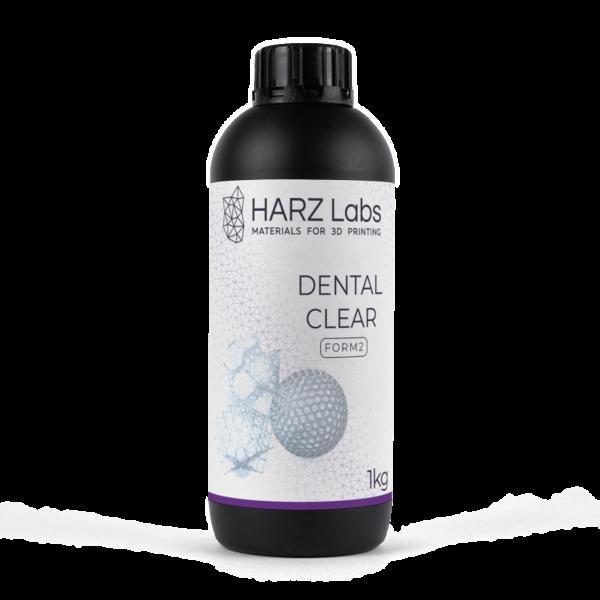Фотополимер HARZ LABS Dental Clear для 3D принтеров SLA/Form2 0.5 л