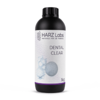 Фотополимер HARZ LABS Dental Clear для 3D принтеров LCD/DLP 0.5 л