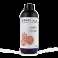 Фотополимер HARZ LABS Dental Peach для 3D принтеров LCD/DLP 0.5 л