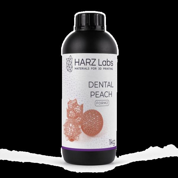 Фотополимер HARZ LABS Dental Peach для 3D принтеров SLA/Form2 0.5 л