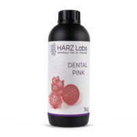 Фотополимер HARZ LABS Dental Pink для 3D принтеров LCD/DLP 1 л