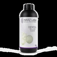Фотополимер HARZ LABS Dental Yellow Clear для 3D принтеров LCD/DLP 0.5 л