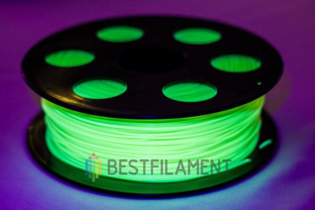 Флуоресцентный PLA пластик Bestfilament 1.75 мм для 3D-принтеров, 1 кг, жёлтый