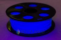 Флуоресцентный PLA пластик Bestfilament 1.75 мм для 3D-принтеров, 1 кг, голубой