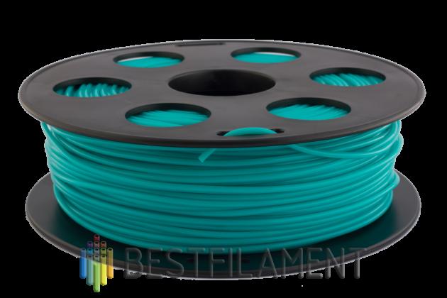 PLA пластик Bestfilament 2.85 мм для 3D-принтеров, 1 кг, изумрудный