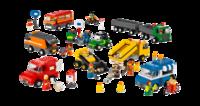 9333 Общественный и муниципальный транспорт. LEGO