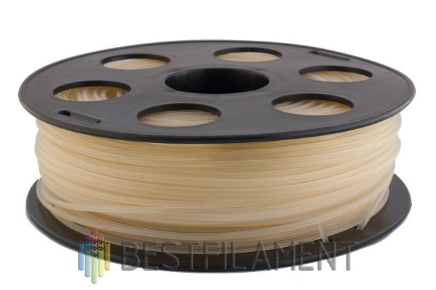 PLA пластик Bestfilament 2.85 мм для 3D-принтеров, 1 кг, натуральный