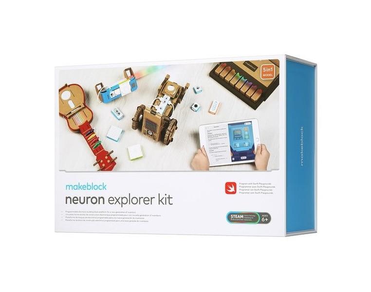 Электронный конструктор Makeblock Neuron Explorer Kit - программирование с 6 лет