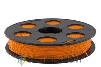 PETG пластик Bestfilament 1.75 мм для 3D-принтеров 0.5 кг оранжевый
