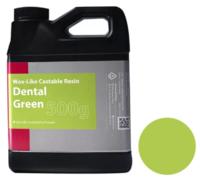 Фотополимер Phrozen Wax-like Dental Green, зеленый (0,5 кг)