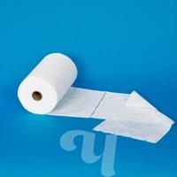 Салфетки Спанлейс белый 20x20см, 200 шт.  рулон