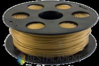 PETG пластик Bestfilament 1.75 мм для 3D-принтеров 1 кг золотистый металлик