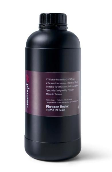 Фотополимер Phrozen TR250-LV Gray, серый (1 кг)