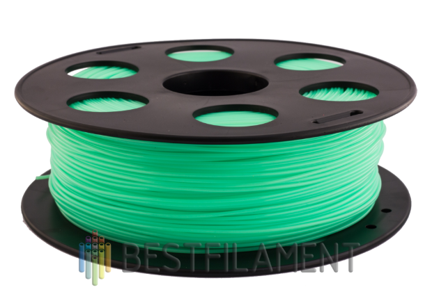 PLA пластик Bestfilament 2.85 мм для 3D-принтеров, 1 кг, салатовый