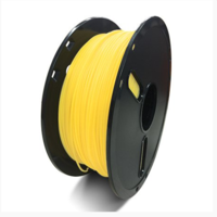 Катушка PLA-пластика Raise3D Premium, 1.75 мм, 1 кг, полупрозрачная жёлтая