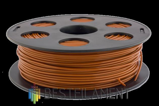 PLA пластик Bestfilament 2.85 мм для 3D-принтеров, 1 кг, шоколадный