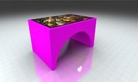 "Интерактивный стол Мостик 42""Full HD 4 касания"