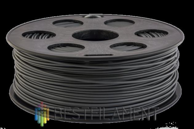 PLA пластик Bestfilament 2.85 мм для 3D-принтеров, 1 кг, темно-серый