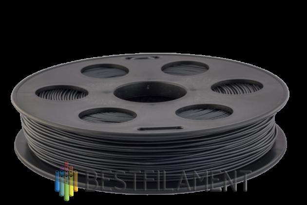 Bflex пластик Bestfilament 1.75 мм для 3D-принтеров, 0,5 кг темно-серый