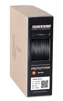 Пластик для 3D принтера Filamentarno 1.75 мм. PRO TITAN GF-12 черный (0.75 кг)