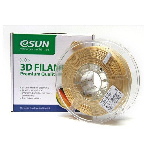 Катушка пластика Wood ESUN 1.75 мм 0,5кг., натуральная (WOO175N05)