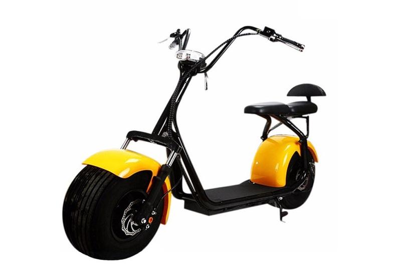 Электро-скутер Seev CityCoco Lux v 2.0