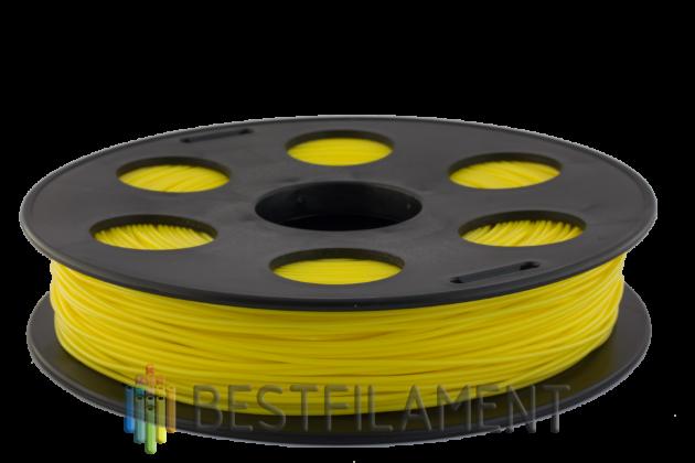 PETG пластик Bestfilament 1.75 мм для 3D-принтеров 0.5 кг жёлтый